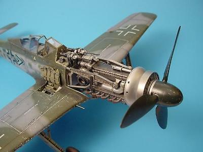 AIRES 2025 Gun Bay for Hasegawa® Kit Fw190D in 1:32