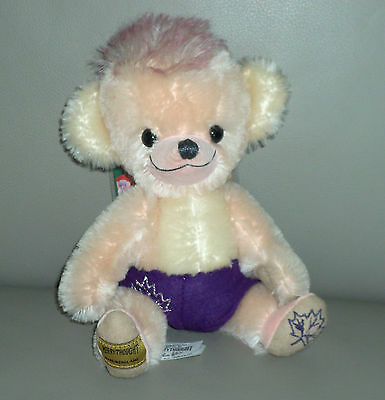 Merrythought Canadian Punkinhead Ancestor Cheeky Mohair Teddy Bear Ltd 174 / 250