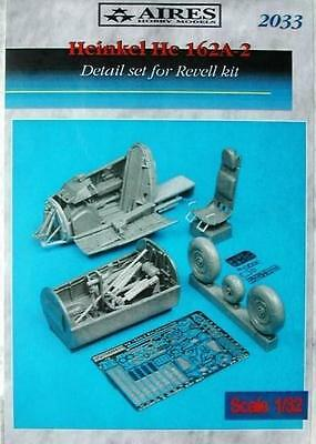 AIRES 2033 Detail Set for Revell® Kit He162A-2 Salamander in 1:32