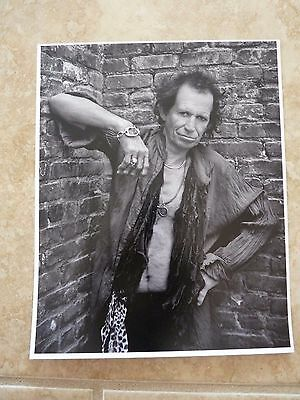 Rolling Stones Keith Richards Promo 8x10 Concert Photo #1