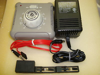 Bachmann G/ho/n Electronic Speed Controller And Transformer Set With Power Clip