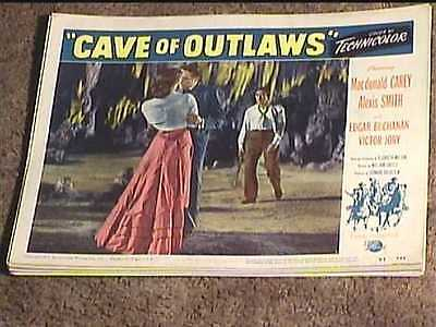 Cave Of Outlaws 1951 Lobby Card #6 Western