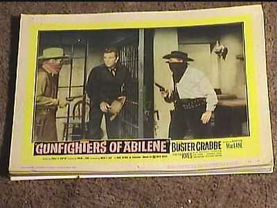 Gunfighters Of Abilene 1959 Lobby Card #8 Western