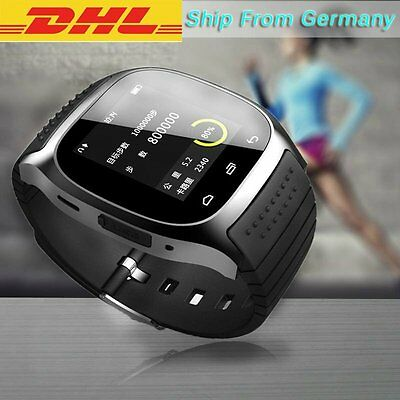 DHL M26 Smart Watch Phone Mate Bluetooth For iPhone IOS Android Samsung HTC LG