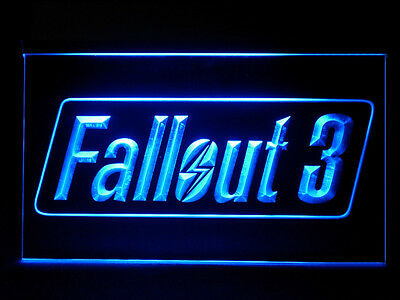 J665B Fallout 3 For Man Cave Game Room Display Decor Light Sign