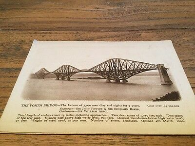 Old Postcard  South Queensferry