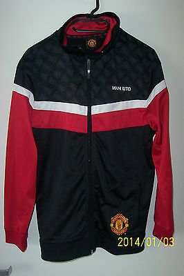 Manchester Utd - Official Ladies Tracksuit Top / Casual Top - Size 16