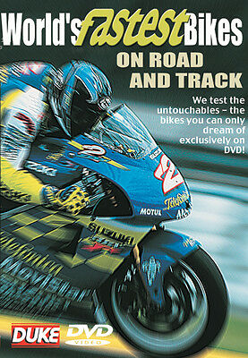 World Fastest Bikes On Road On Road Or Track - Dvd - All Regions - Brand New