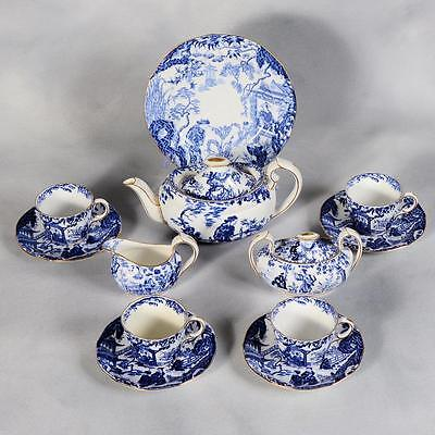 "Royal Crown Derby ""mikado"" Tea Set"