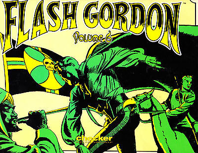 "Flash Gordon Vol 6 -2006-Strip Reprints Hard Cover- ""Pirate Flag Cover!  """