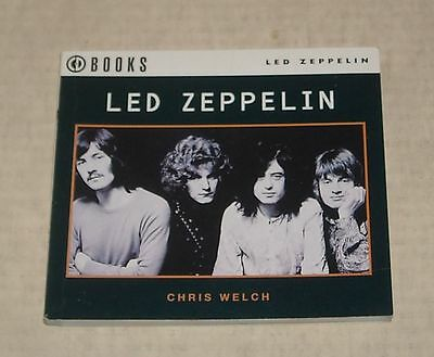 1994 LED ZEPPELIN by CHRIS WELCH SMALL PB BOOK LOTS of PHOTOS DISCOGRAPHY