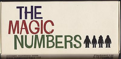 The Magic Numbers - Boxed Figures - Rare Playbeast set of 4 figures Pete Fowler