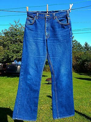 Vtg LEE Riders Denim Jeans (34x32 tag) Union Made USA (32x31 Actual)