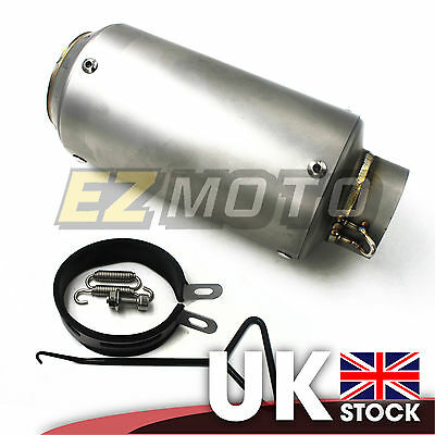 XXD Exhaust Stubby Pipe Muffler for Universal Motorcycle Racing 51mm inlet