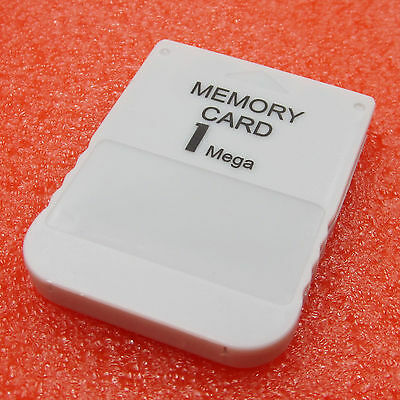 White 1 MB 1MB Memory Card Stick For Playstation 1 One PS1 PSX Gam Hot Sale BBC