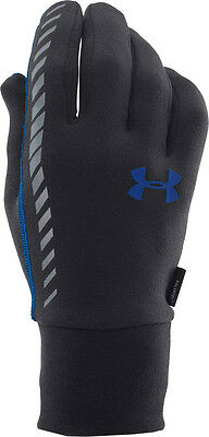 UNDER ARMOUR ColdGear® Infrared Charged Wool Reflective Run Gloves Men's Large