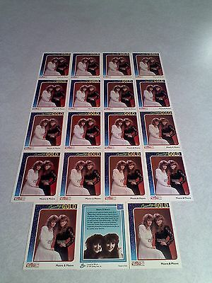 *****Moore & Moore*****  Lot of 19 cards