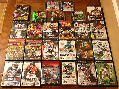PlayStation 2 Games Wholesale Lot 25 Video Game Collection PSP PS2 PS3