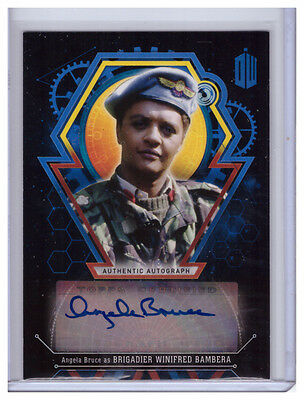 Doctor Who Extraterrestrial Auto ANGELA BRUCE Winifred Bambera AUTOGRAPH 25/25