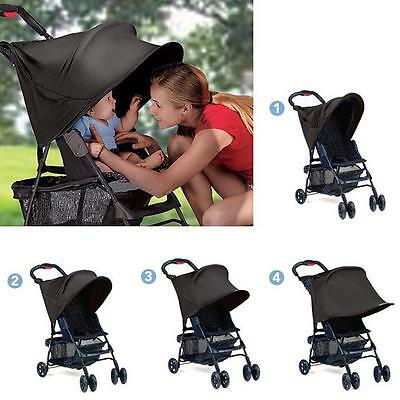 Baby Child Shade Maker Canopy Stroller Cover Sun Summer Protect Seat Extended LD