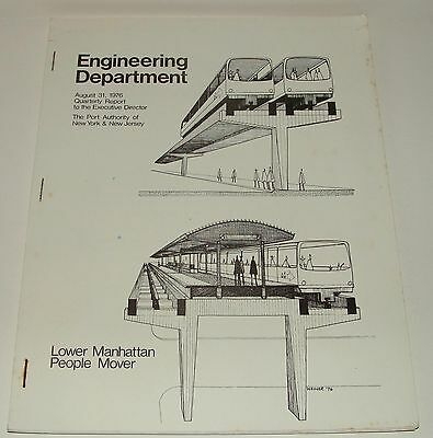 Engineering Report August 1976 The Port Authority Of New York Lower Manhattan Pm