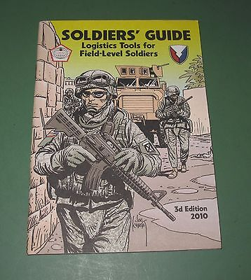 2010 Soldiers Guide US Army PS Preventive Maintenance Monthly Magazines Book