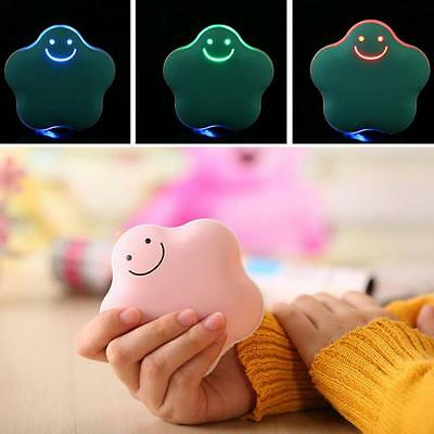 USB Rechargeable 3600mAh Mobile Power Bank External Charger Mini Hand Warmer