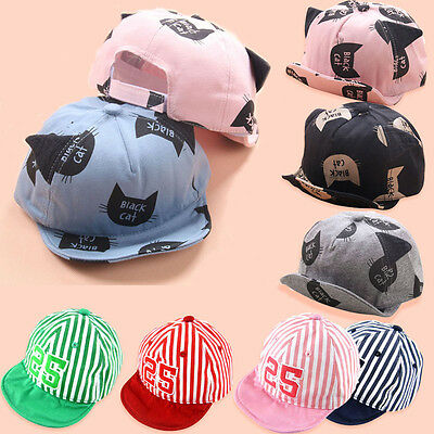 Fashion Spring Summer Baby Kids Boys Girls Hat Children Casual Cotton Letter Hat