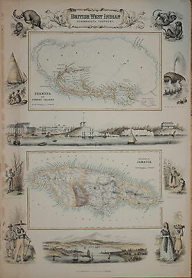 British West Indian Possessions By Archibald Fullarton 1874. Bermuda & Jamaica.
