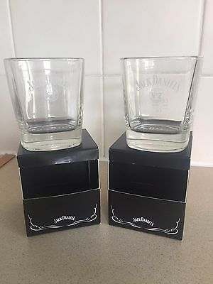 Brand New Pair Of Jack Daniel's Old No.7 Tennessee Brand Tumbler Glasses