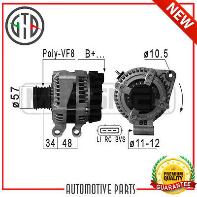 Alternatore Land Rover Discovery 3 2.7 Td 4X4 190 276Dt 04 - 09 0986082400