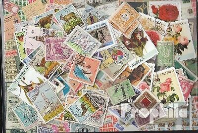 angola 100 different stamps