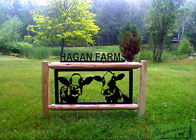 Cows-Holsteins-Farm &  Ranch Country Decor-Outdoor Signs-Dairy Cows #15321