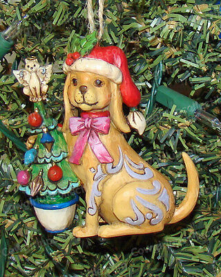 Christmas Dog Ornament (Jim Shore by Enesco, 4027757) Heartwood Creek