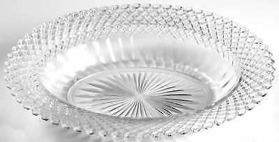 "Anchor Hocking MISS AMERICA CLEAR 10 1/8"" Oval Vegetable Bowl 1779099"