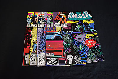 Punisher 1st Series Comic Lot 5 Books 34 35 36 37 38 NM Jigsaw Puzzle