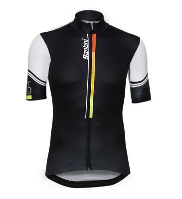 2017 KARMA CYCLING Jersey in Black Made in Italy by Santini -  50.00 ... 6652201c2