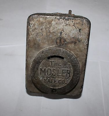 Antique Mosler Safe Lock for Lug Doors Collector Replacement Locksmith Security