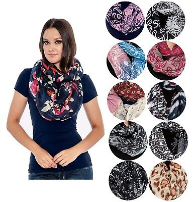 True Rock Eternity Women's Lightweight Infinity Scarf Scarves