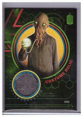 2016 Topps Doctor Who Extraterrestrial OOD Authentic COSTUME RELIC 478/499