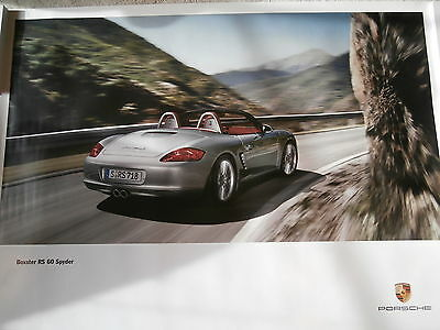 Porsche Boxster 60 Sypder Factory Showroom Poster