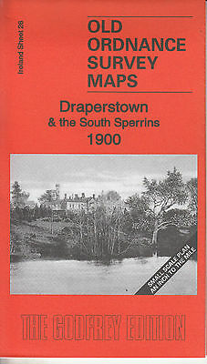 DRAPERSTOWN & SOUTH SPERRINS 1900, Old Ordnance Survey Map, Ireland Sheet 26