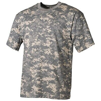 ARMY T-SHIRT Halbarm Shirt AT DIGITAL TARN  S - 3XL US  Armyshirt Tarnshirt