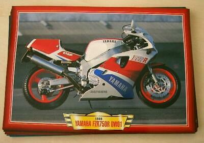 Yamaha Fzr750R 0W01 Fzr750 R Fzr 750 Classic Motorcycle Bike 1980's Picture 1989