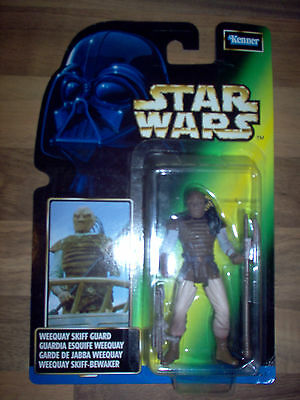 Figurine Star Wars Power Of The Force / POTF - Weequay Skiff Guard 1998 Kenner