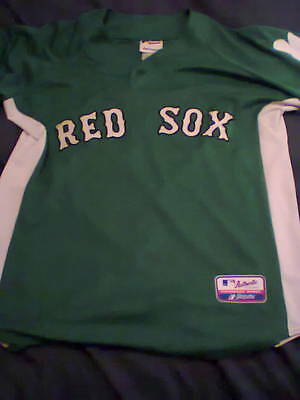 Boston Red Sox St Patrick's Day Jersey 2010 Xl
