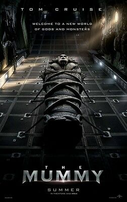 Mummy - original DS movie poster - 27x40 D/S Advance Tom Cruise