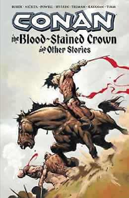 Conan: Blood-stained Crown and Other Stories (Conan (Gr - Paperback NEW Busiek,
