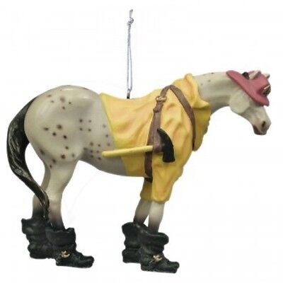 Trail of Painted Ponies FIREMAN PONY ORNAMENT Retired!