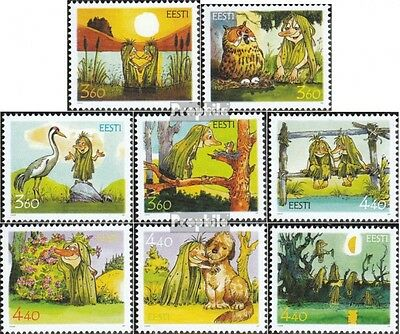 Estonia 402-409 (complete issue) unmounted mint / never hinged 2001 Fairytale
